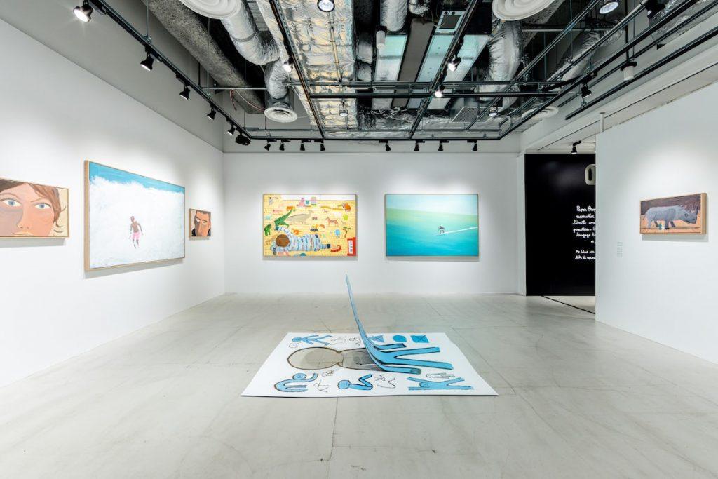 Jean Jullien launches four-part exhibition throughout Tokyo