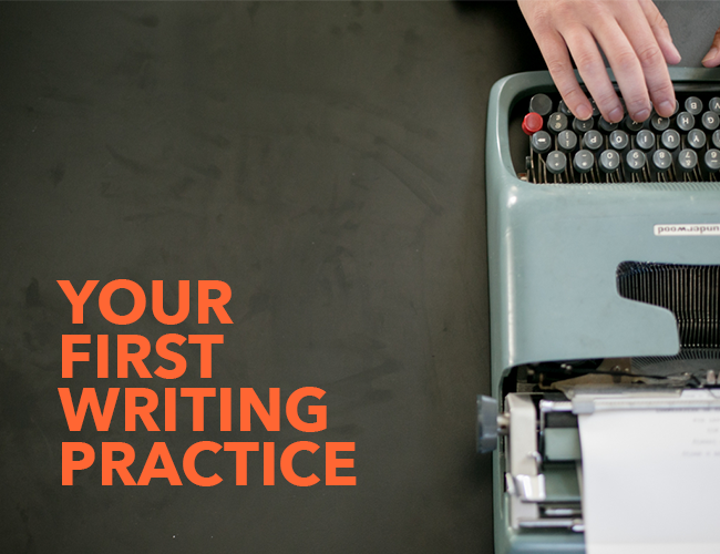 Your First Writing Follow copy